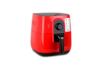 3L Oil-Less Air Fryer (Red)