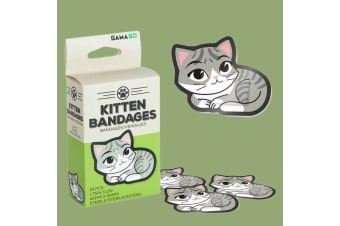 Adhesive Kitten Bandages | Purrrfectly Sterile Kitties For Your Cuts!