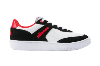 Ellesse Men's Vinitziana 2.0 Leather AM Shoe (White/Black, Size 13 US)