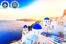 GREECE: 14 Day Greek Island Hopping Package Including Flights for Two