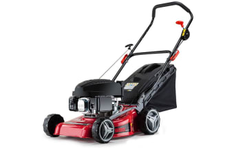 NEW Baumr-AG Lawn Mower 139cc 16'  5HP Petrol Push Lawnmower 4 Stroke Engine