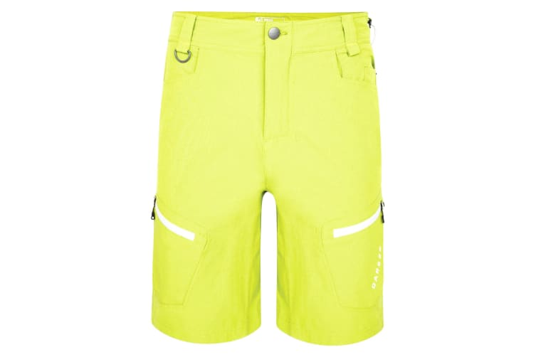 Dare 2B Mens Tuned In Hiking Shorts (Lime Punch) (42)