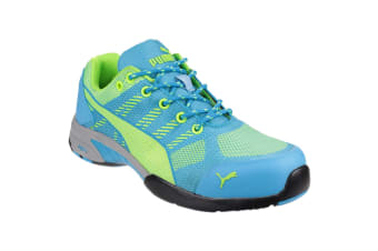 Puma Safety Womens/Ladies Celerity Knit Lace Up Safety Trainers (Blue)