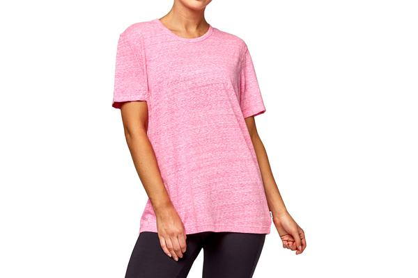 Bonds Women's Triblend Crew Tee (Hot Purple, Size S)