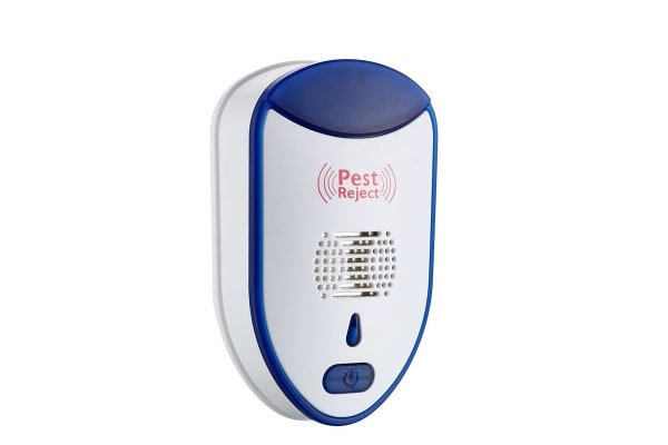 Ultrasonic Pest Repeller - Blue and White
