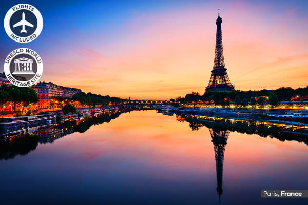 EUROPE: 19 Day Europe Encompassed Tour Including Flights for Two