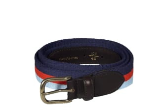 Help For Heroes Mens Braided Belt (Full Colour Stripe)