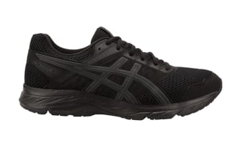 ASICS Men's GEL-Contend 5 Running Shoe (Black/Dark Grey)