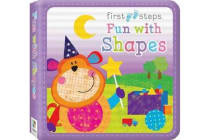 First Steps Cloth Board Book - Fun with Shapes