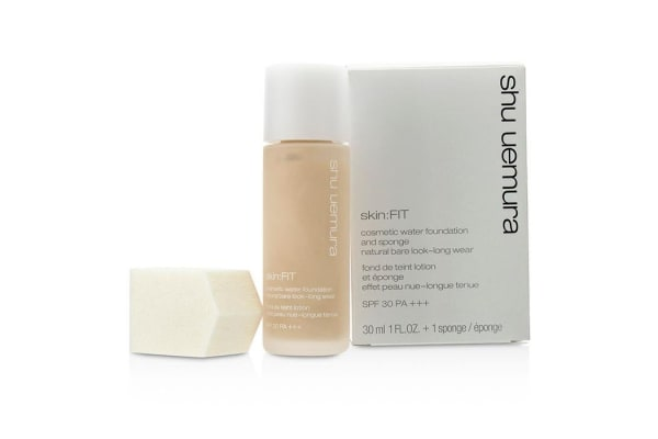 Shu Uemura Skin:Fit Cosmetic Water Foundation and Sponge SPF30 - #584 Fair Sand (30ml/1oz)