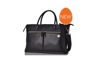 Pacapod Fortuna Nappy Bag Black
