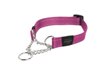 Rogz Dog Obedience Collar Pink - L