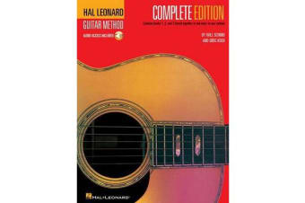 Hal Leonard Guitar Method - Complete Edition (Book/Online Audio)