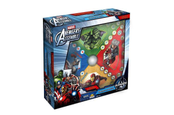 Marvel Avengers Press O Matic Kids/Children 3y+ Adult/Family Board Game Fun Toys
