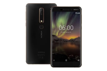 Nokia 6.1 (32GB, Black/Copper)