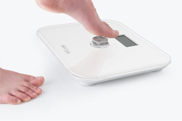 Bella Vita Battery-Free Bathroom Scales