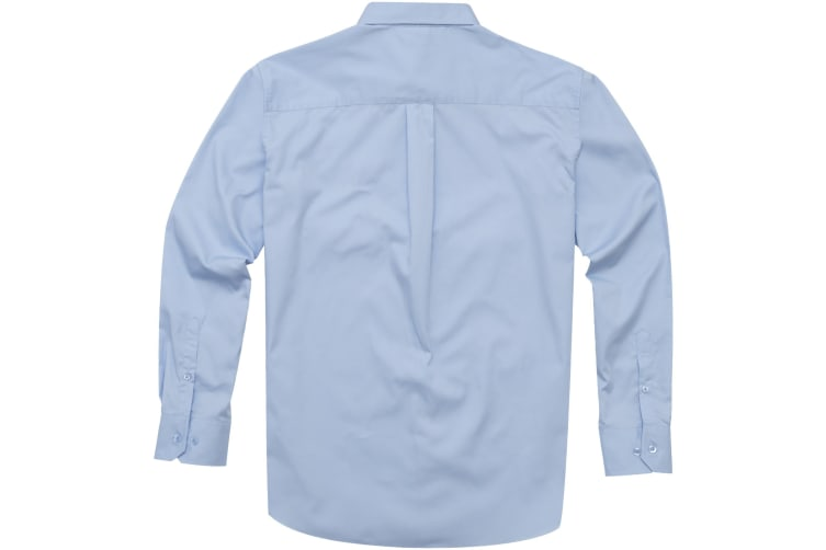 Elevate Mens Wilshire Long Sleeve Shirt (Frosted Blue) (M)