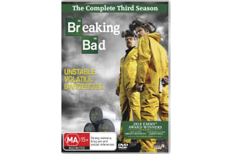 Breaking Bad Season 3 DVD Region 4