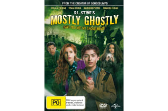 RL Stines Mostly Ghostly 2 Have You Met My Ghoulfriend DVD Region 4