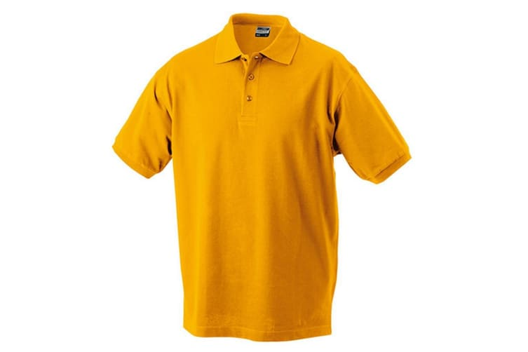 James and Nicholson Childrens/Kids Classic Polo (Gold Yellow) (XL)
