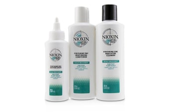 Nioxin Scalp Recovery Kit - For Itchy Flaky Scalp 3pcs
