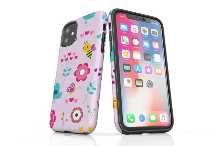 For iPhone 11 Case  Protective Back Cover  Joyful Spring
