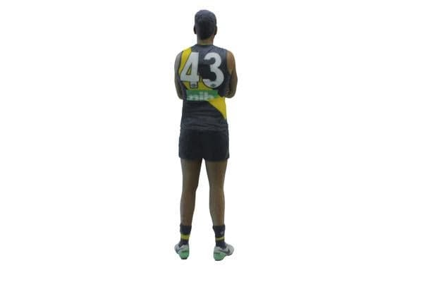 Derek Eggmolesse-Smith AFL Richmond 3D Printed Mini League Figurine - 18cm