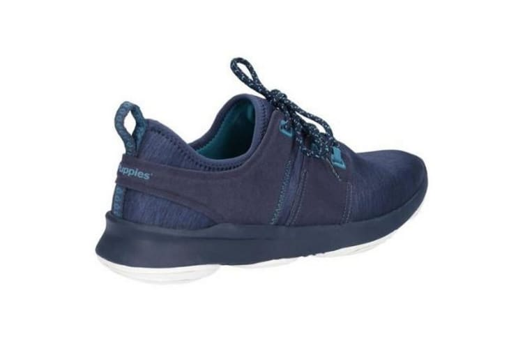 Hush Puppies Mens Geo Lace Up Trainers (Navy) (12 UK)