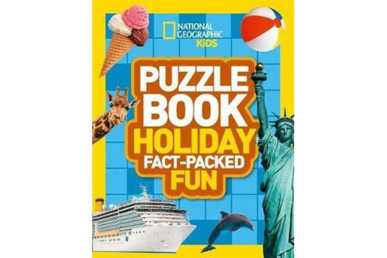 Puzzle Book Holiday - Brain-Tickling Quizzes, Sudokus, Crosswords and Wordsearches