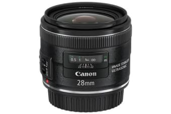 New Canon EF 28mm f/2.8 IS USM Lens (FREE DELIVERY + 1 YEAR AU WARRANTY)
