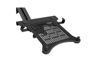 "Loctek NCS105 10""-15.6"" Laptop Holder Tray -Black"