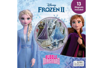 Disney Frozen II Bubble Magnets