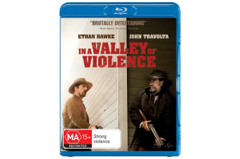 In a Valley of Violence Blu-ray Region B