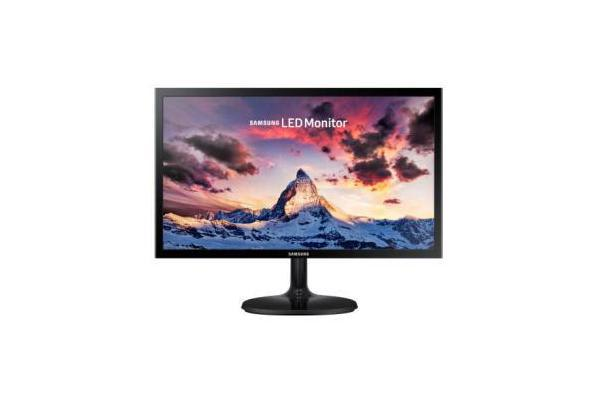 SAMSUNG 23.6in WIDE S24F350FHE PLS 1920X1080 HDMI+CABLE/DSUB VESA MOUNT 178/178 VIEWING ANGLE 16.7M COLOURS 60HZ REFRESH RATE FREE SYNC