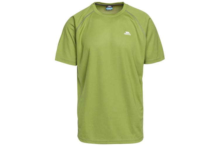 Trespass Mens Debase Short Sleeve Active T-Shirt (Cedar Green) (S)