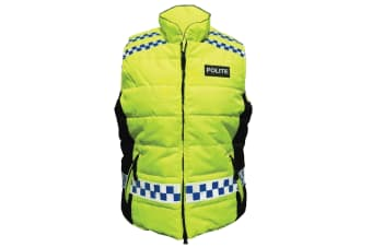 Equisafety Polite Please Slow Down Quilted Gilet (May Vary)
