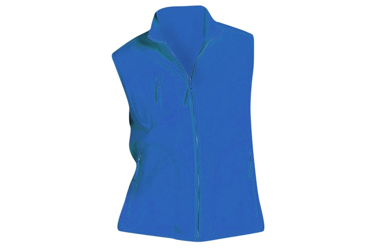 SOLS Norway Unisex Anti-Pill Fleece Bodywarmer / Gilet (Royal Blue) (S)