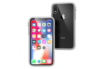Catalyst Impact/Drop/Scratch Protection Case Back Cover f/ Apple iPhone XR Clear