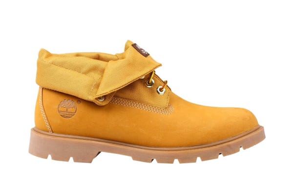 Timberland Men's Icon Basic Roll Top Boots (Wheat Nubuck, Size 10 US)