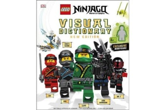 LEGO NINJAGO Visual Dictionary New Edition - With Exclusive Teen Wu Minifigure