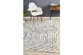 Felicia Monochrome Soft Tribal Rug