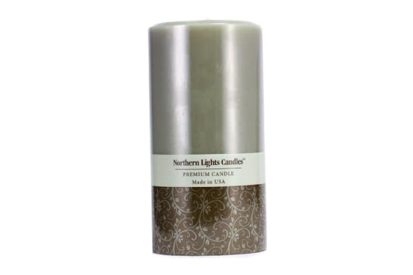 Northern Lights Candles Premium Candle - Lime Basil ((3x6) inch)