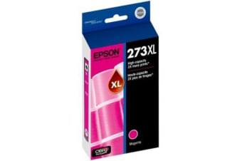 EPSON Claria 273XL Ink Cartridge - Magenta - Inkjet - High Yield - 1 Pack