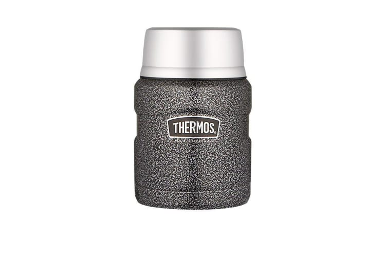 Thermos Stainless King Insulated Food Jar 470ml Hammertone