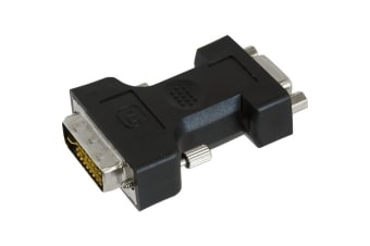 VGA Socket To DVI-I Plug Adaptor