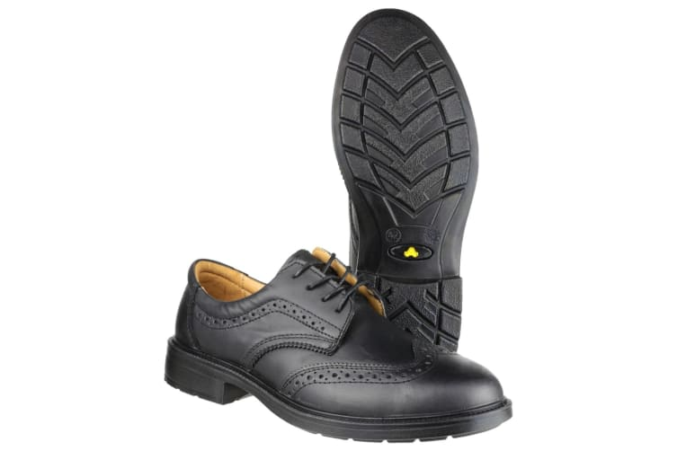 Amblers Safety FS44 Mens Safety Brogue Shoes (Black) (7 UK)