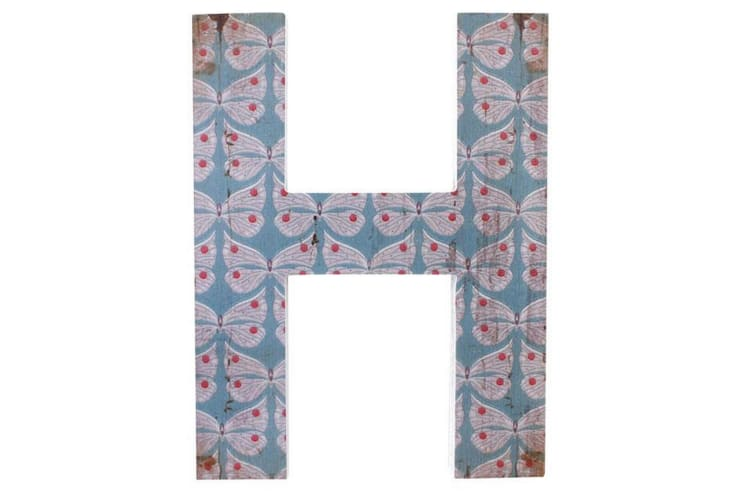 Something Different Alphabet Letter Wall Decoration (H) (One Size)