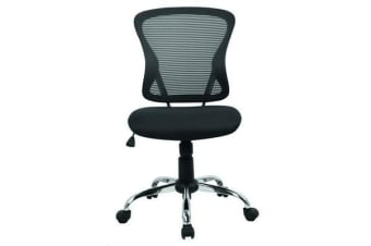 Brenton H-8369F-P Chair Mid Back - Black Mesh