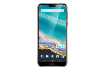 """Nokia 7.1 (5.84"""", 32GB/3GB, Android One) - Steel"""