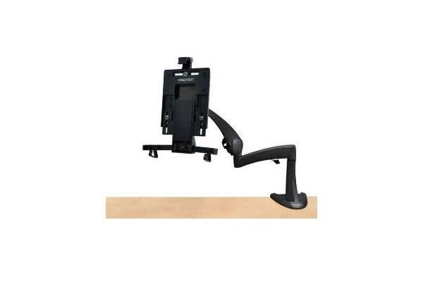 ERGOTRON NEO-FLEX DESK MOUNT TABLET ARM FOR IPAD - SCREEN SUPPORT #10in CAPACITY #2.5 LBS #1.1 KG LIFT 8in 20.3 CM